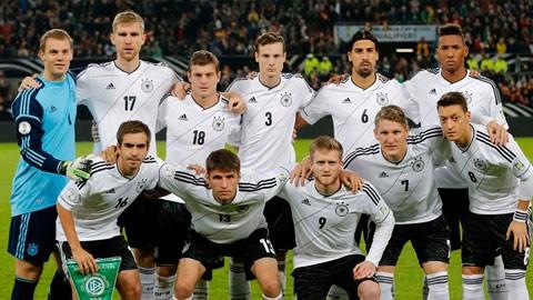 Đức là đội mạnh Euro 2016