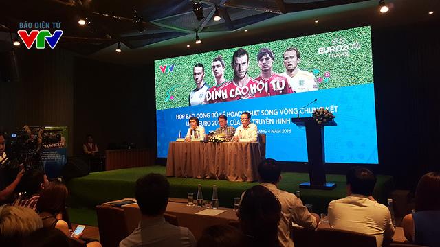 VTV chính thức giành quyền phát sóng Euro 2016