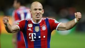 Arjen Robben vắng mặt do chấn thương tại vòng loại Euro 2016