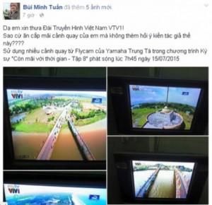 Anh Bùi Minh Tuấn nhiều lần chia sẻ bức xúc trên Facebook cá nhân