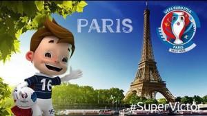 Euro 2016 sẽ được tổ chức tại Pháp