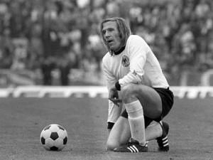 Gunter Netzer có phong độ tuyệt vời tại Euro 1972