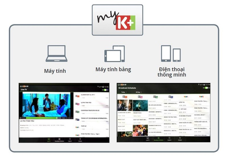 Ra mắt ứng dụng MyK+