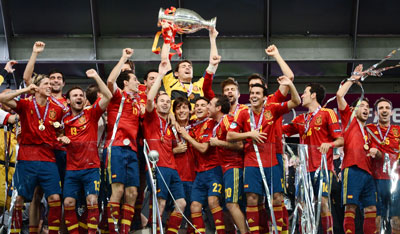 Thông tin đội tuyển Tây Ban Nha tham dự Euro 2016
