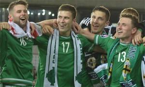 Đội tuyển Bắc Ireland là lần đầu tiên vào VCK Euro 2016