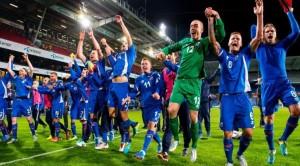 Đội tuyển Iceland lần đầu tham dự vòng chung kết Euro 2016
