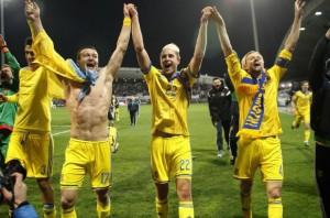 Đội tuyển Ukraine tham dự Euro 2016 với tấm vé từ trận play-off