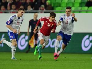 Adam Nagy là tài năng trẻ của đội tuyển Hungary tham dự Euro 2016
