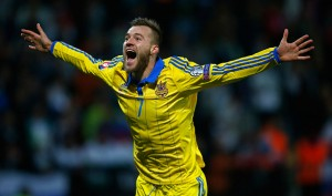 Trong đội tuyển Ukraine tham dự Euro 2016 có Andriy Yarmolenko