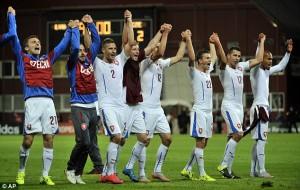 Đội tuyển CH Czech tham dự Euro 2016 với vị trí đầu bảng A