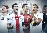 Thông tin 6 đội mạnh nhất có thể vô địch Euro 2016