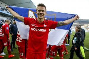 Arnor Ingvi Traustason là niềm hy vọng của đội tuyển Iceland tham dự Euro 2016