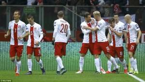 Đội tuyển Ba Lan tham dự Euro 2016 với tư cách nhì bảng D