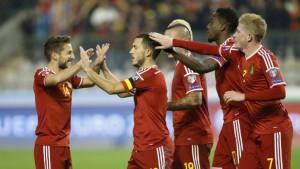 Đội tuyển Bỉ tham dự Euro 2016 với tư cách đội đầu bảng B