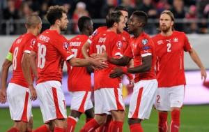 Đội tuyển Thụy Sỹ tham dự Euro 2016 với tư cách nhì bảng E