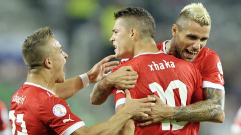 Nhận định bóng đá Euro 2016: Thụy Sỹ vs Albania 11/6