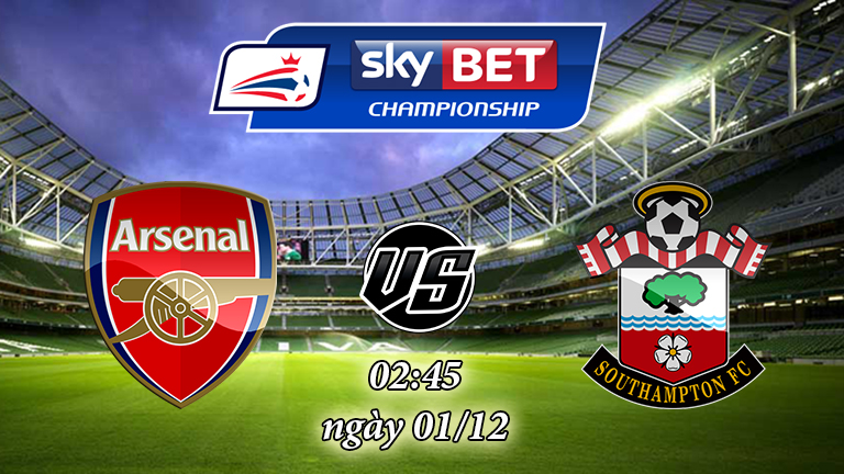 Soi kèo bóng đá Arsenal vs Southampton 02:45, ngày 01/12 Cúp Liên Đoàn Anh