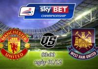 Soi kèo bóng đá Manchester United vs West Ham 03:00, ngày 01/12 Cúp Liên Đoàn Anh