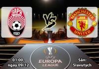 Soi kèo bóng đá Zorya Luhansk vs Manchester United 01h00, ngày 09/12 Europa League