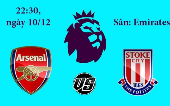 Soi kèo bóng đá Asenal vs Stoke City 22h00, ngày 10/12 PremierLeague