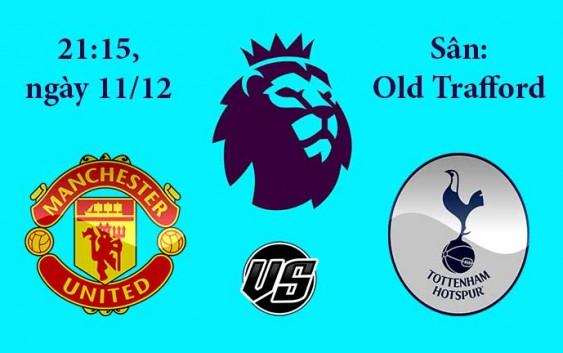 Soi kèo bóng đá Manchester United vs Tottenham 21h15, ngày 11/12 Premier League