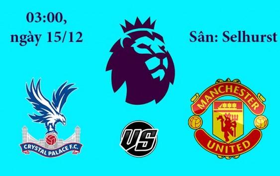 Soi kèo bóng đá Crystal Palace vs MU 03h00, ngày 15/12 Premier League