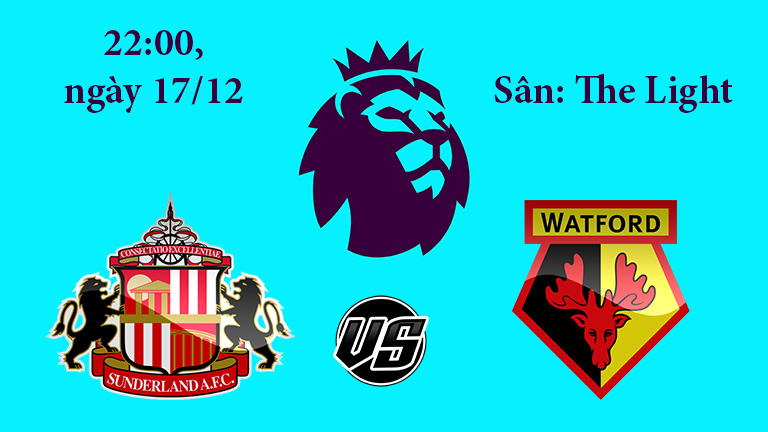 Nhận định, soi kèo Sunderland vs Watford