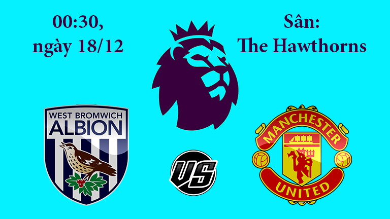 Nhận định, soi kèo West Brom vs Manchester United