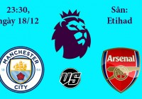 Soi kèo bóng đá Man City vs Arsenal 23h30, ngày 18/12 Premier League