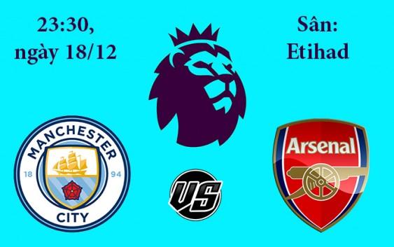Soi kèo bóng đá Man City vs Arsenal 23h30, ngày 18/12 Premier League
