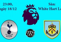 Soi kèo bóng đá Tottenham vs Burnley 23h00, ngày 18/12 Premier League