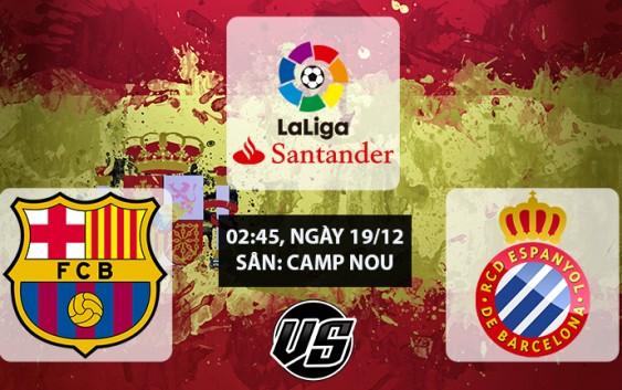 Soi kèo bóng đá Barcelona vs Espanyol 02h45, ngày 19/12 La Liga