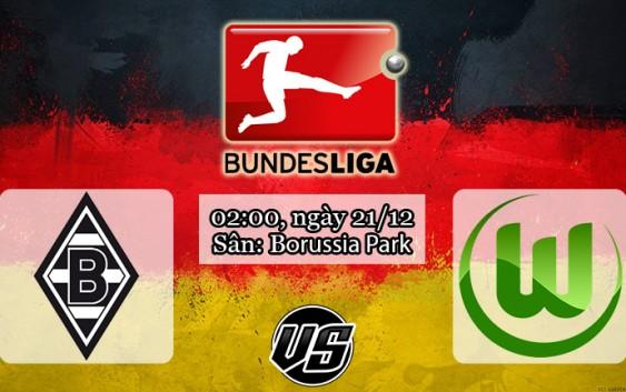 Soi kèo bóng đá Monchengladbach vs Wolfsburg 02h00, ngày 21/12 Bundesliga