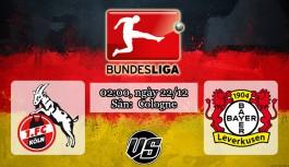 Nhận định, soi kèo Koln vs Bayer Leverkusen 02h00, ngày 22/12 Bundesliga
