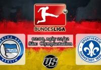 Nhận định, soi kèo Hertha Berlin vs Darmstadt 02h00, ngày 22/12 Bundesliga