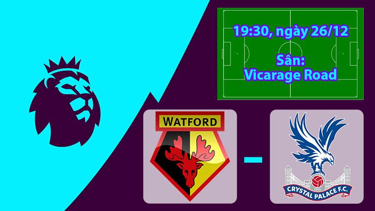 Nhận định, soi kèo Watford vs Crystal Palace