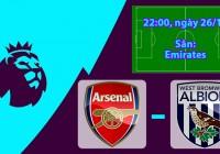 Nhận định, soi kèo Arsenal vs West Brom 22h00 ngày 26/12 Ngoại Hạng Anh
