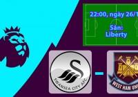Nhận định, soi kèo Swansea vs West Ham 22h00 ngày 26/12 Ngoại Hạng Anh