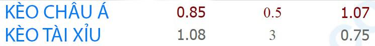 Tỷ lệ kèo Monaco vs Lyon