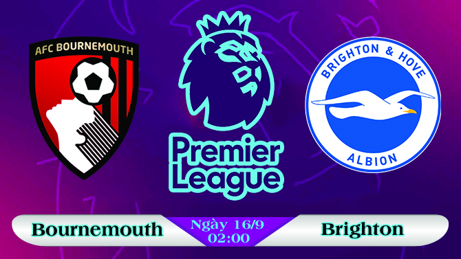 Soi kèo bóng đá Bournemouth vs Brighton 02h00, ngày 16/9 Ngoại Hạng Anh
