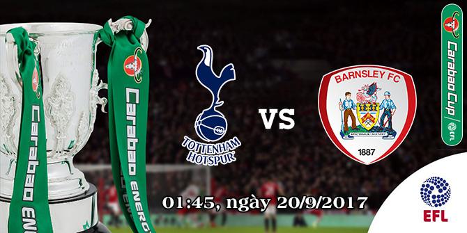 Soi kèo bóng đá Tottenham vs Barnsley 02h00, ngày 20/9 Cúp Liên Đoàn Anh