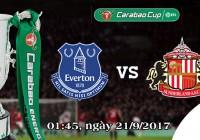Soi kèo bóng đá Everton vs Sunderland 01h45, ngày 21/9 Cúp Liên Đoàn Anh