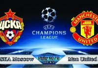 Soi kèo bóng đá CSKA Moscow vs Manchester United 01h45, ngày 28/9 Champions League