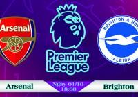 Soi kèo bóng đá Arsenal vs Brighton 18h00, ngày 01/10 Ngoại Hạng Anh