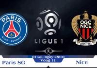Soi kèo bóng đá PSG vs Nice 01h45, ngày 28/10 Vô địch Quốc gia Pháp