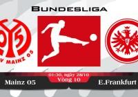 Soi kèo bóng đá Mainz 05 vs Eintracht Frankfurt 01h30, ngày 28/10 Bundesliga