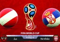 Soi kèo bóng đá Áo vs Serbia 01h45, ngày 07/10 Vòng Loại World Cup 2018