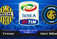 Soi kèo bóng đá Verona vs Inter Milan 02h45, ngày 31/10 Serie A