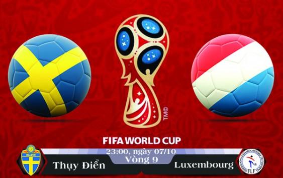 Soi kèo bóng đá Thụy Điển vs Luxembourg 23h00, ngày 07/10 Vòng Loại World Cup 2018