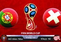 Soi kèo bóng đá Bồ Đào Nha vs Thụy Sĩ 01h45, ngày 11/10 Vòng Loại World Cup 2018